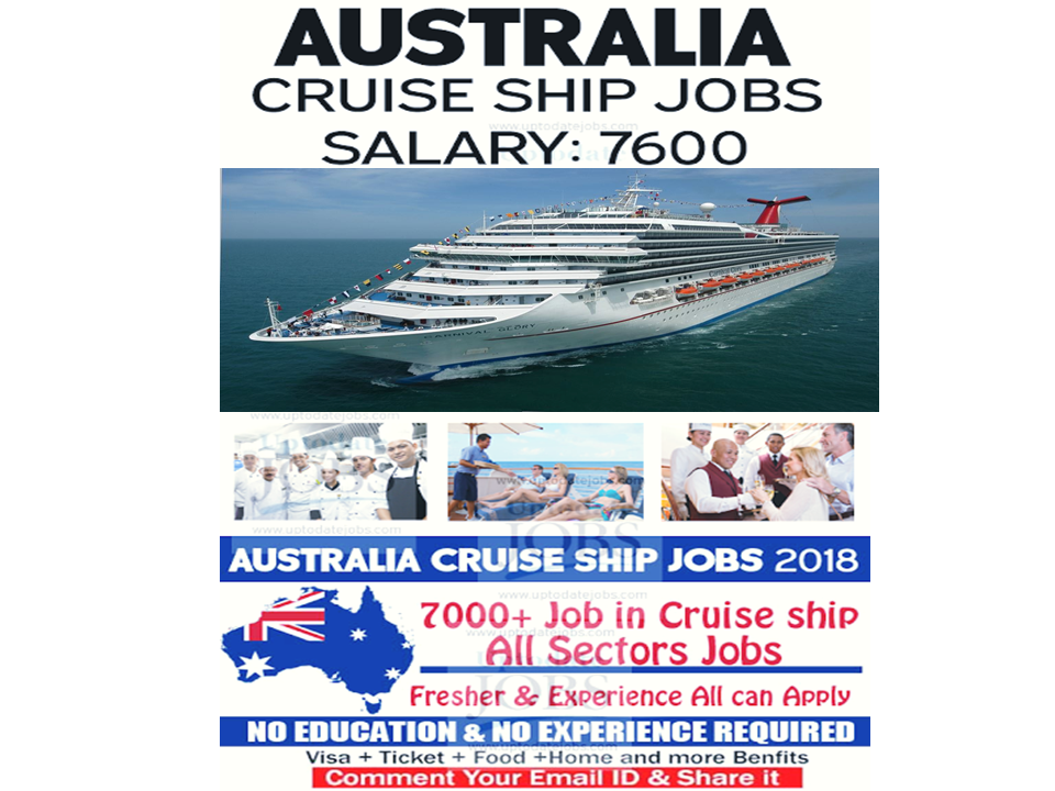 REQUIRED STAFF FOR AUSTRALIA CRUISE LINE HIRING NOW ...